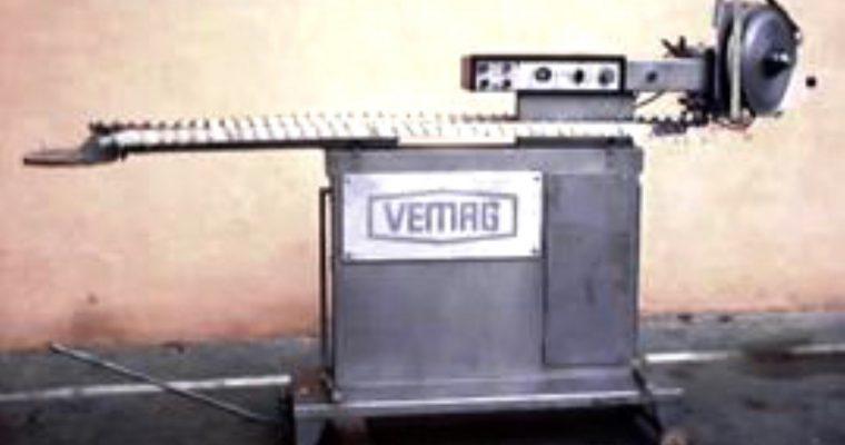 Instalatie de pus cremwursti pe bete VEMAG